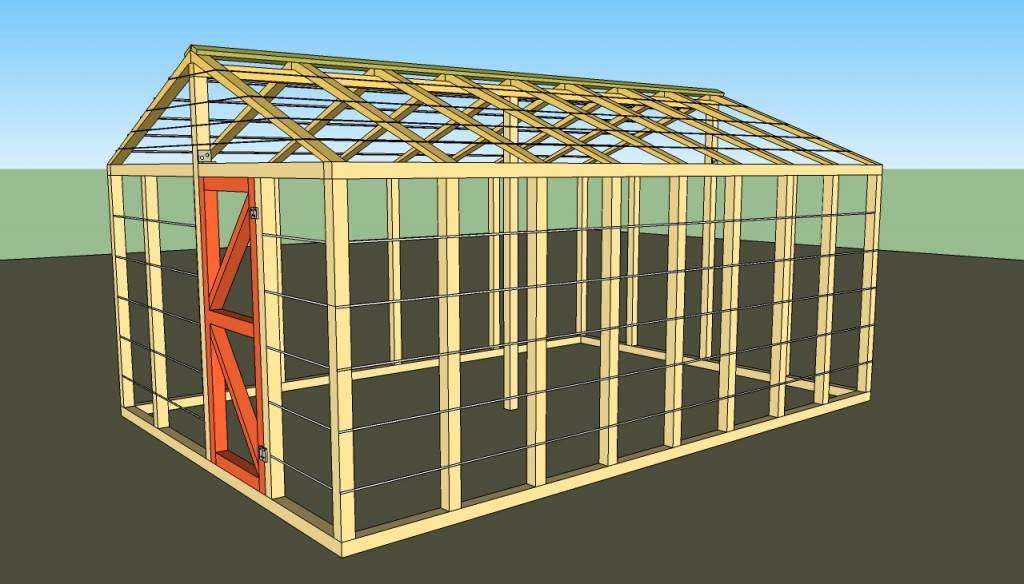 Small Greenhouse Plans Part 34
