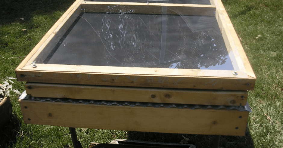 Build A Simple Solar Dehydrator For Under 20