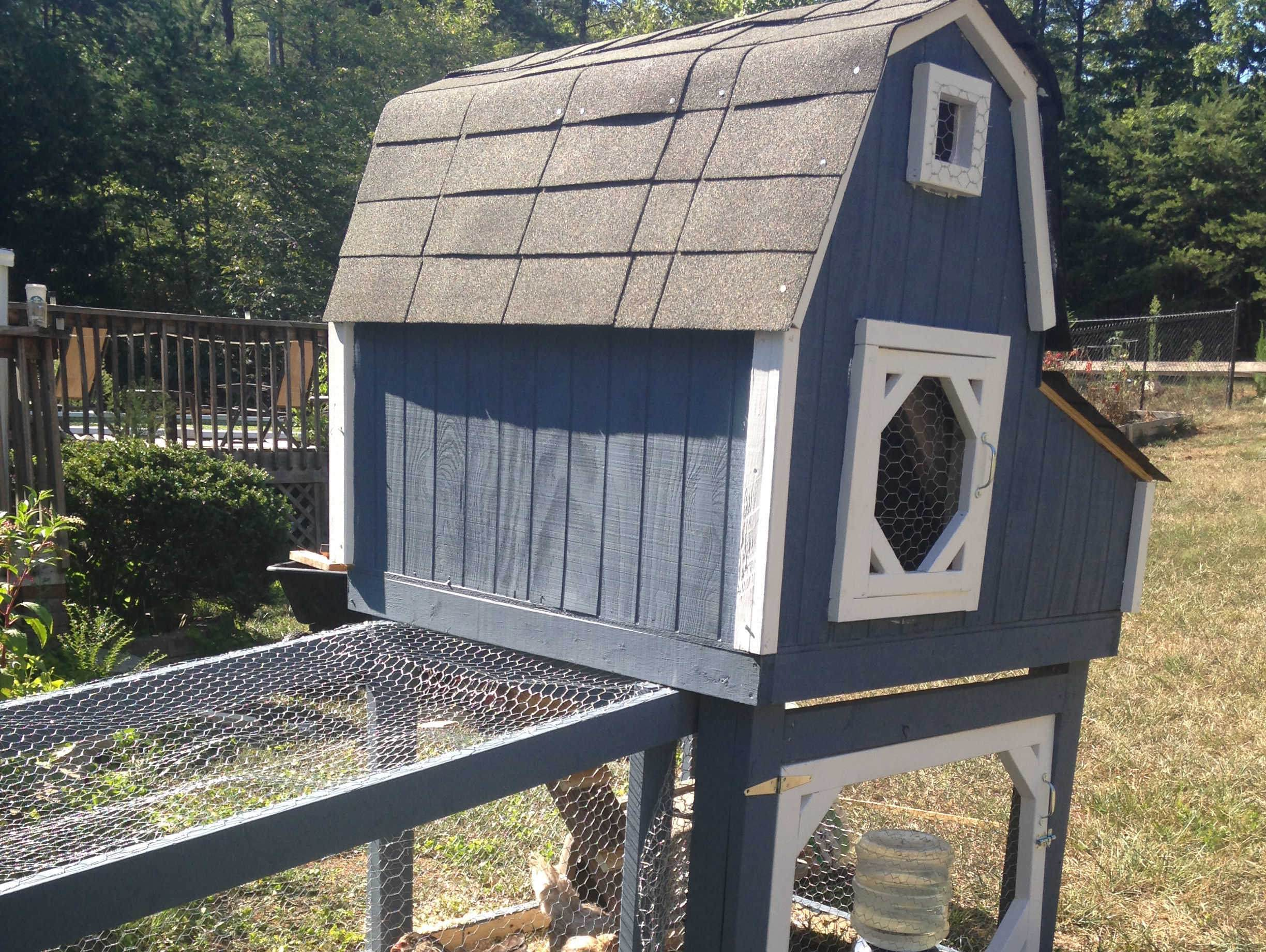 Build this amazing chicken coop with these free plans for Free chicken plans