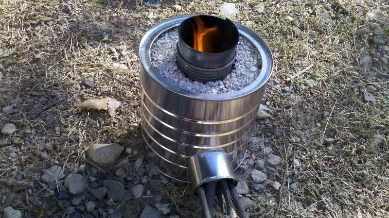 Making A Burner For Cooker ~ Alternative methods of cooking during shtf