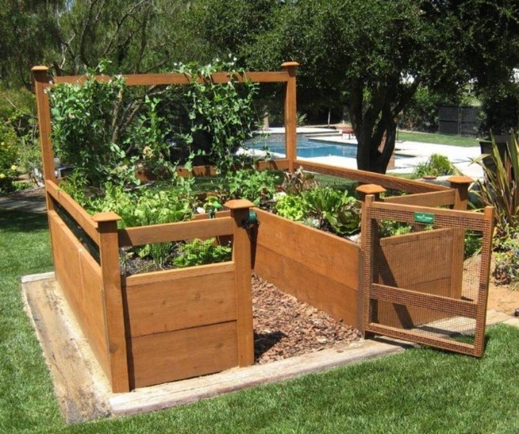 Superb Raised Bed Vegetable Garden