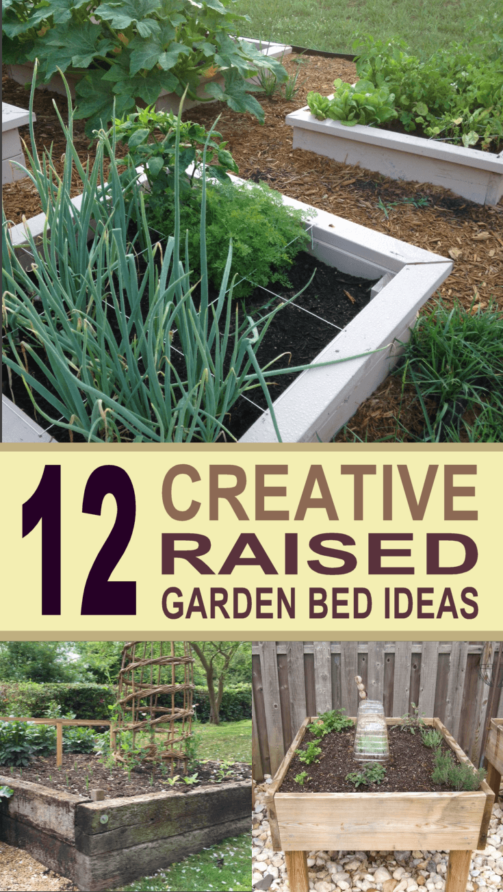 12 diy raised garden bed ideas for Garden bed design ideas