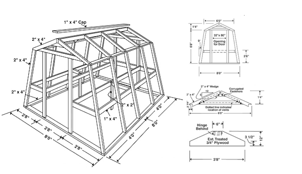 15 free greenhouse plans diy for Gothic greenhouse plans