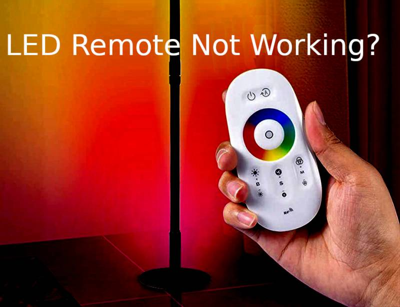 LED Light Remote Not Working