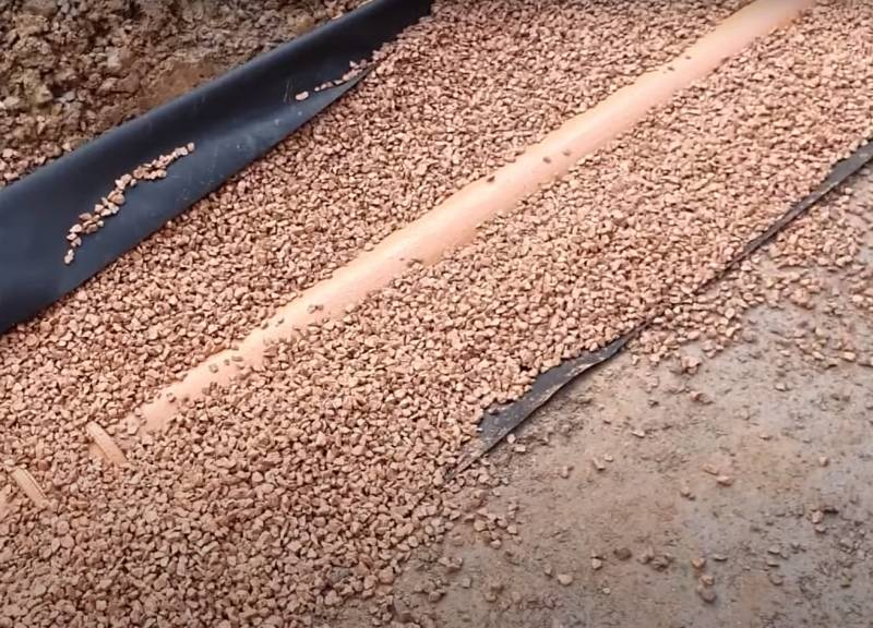 How to tell if French Drain is working