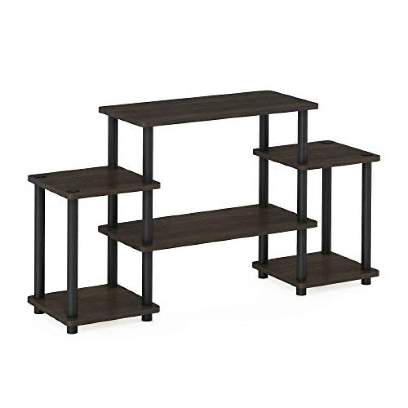 Furinno Turn N Tube No Tools Entertainment TV Stand For TVs Up to 32 Inches