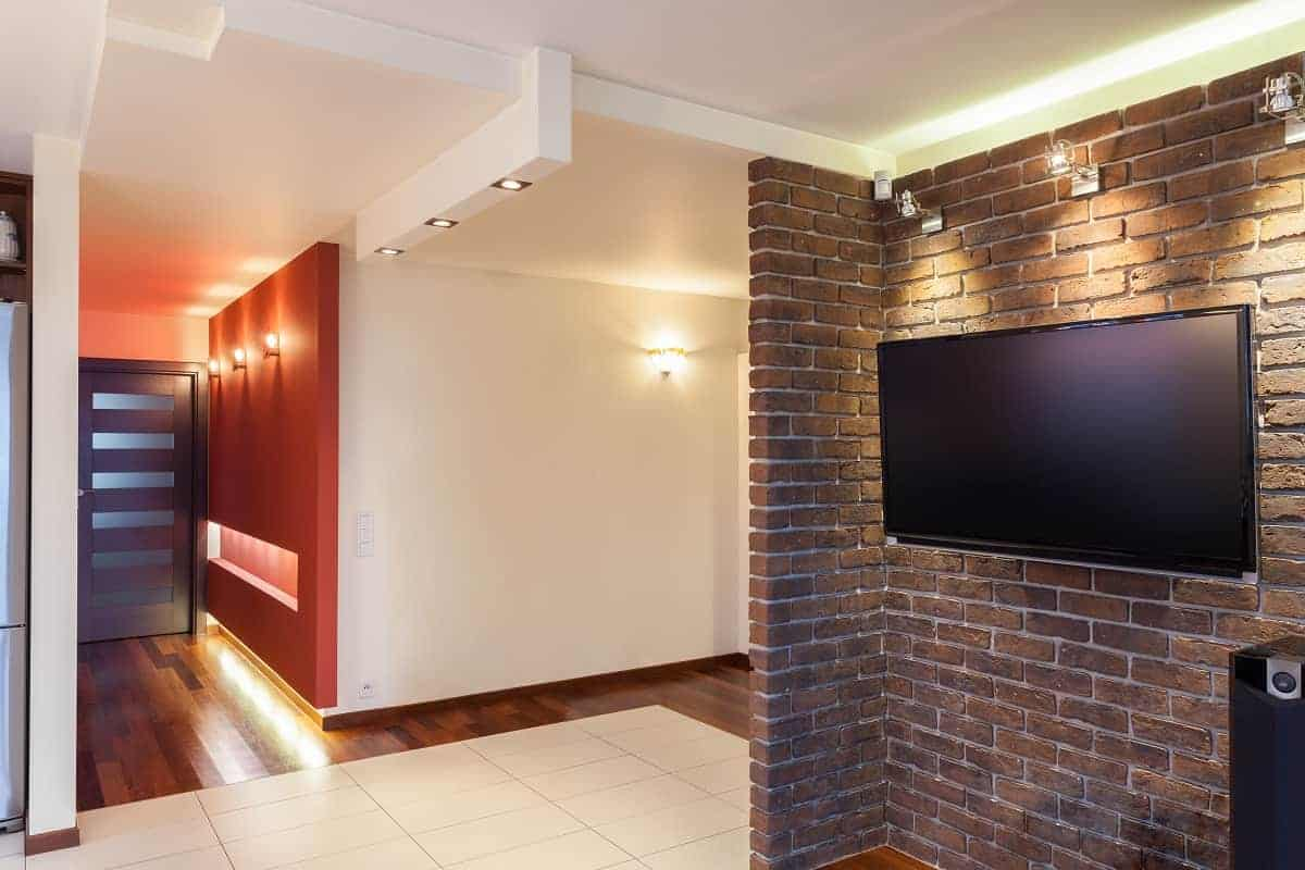 How to Mount a TV on Brick Wall