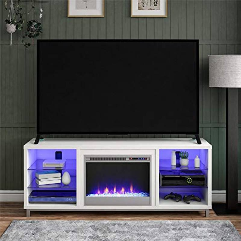 Lumina Fireplace TV Stand for TVs up to 70 inches