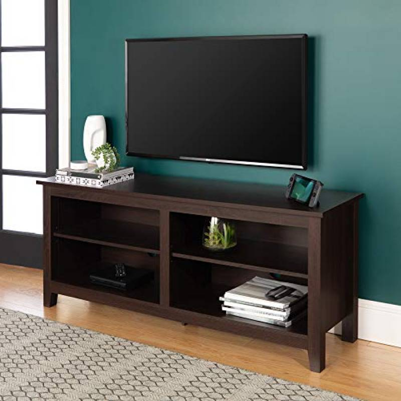 Walker Edison Furniture Universal Stand for TVs up to 60 inches